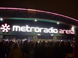 Metro Radio Arena england