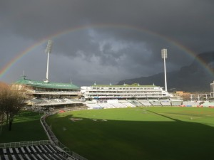 Beautiful view at Newlands