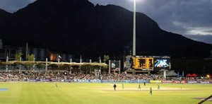 Evening Match at Newlands