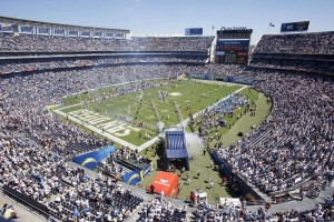 Qualcomm Stadium Events