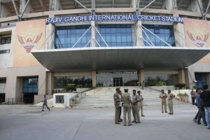 Rajiv Gandhi International Cricket Stadium hyderabad