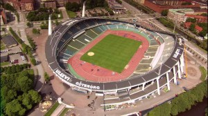 ullevi stadium,gothenburg, sweden