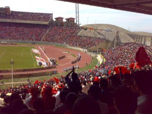 Yadegar-e Emam Stadium seating