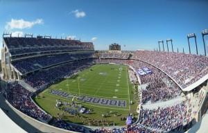 Amon G. Carter Stadium Seating
