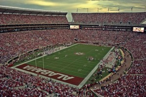 Bryant Denny Stadium Seating