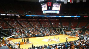 frank erwin center seating