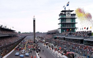 Indianapolis Motor Speedway seat view