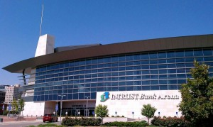 Intrust Bank Arena view