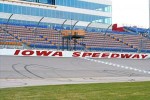 Iowa Speedway seating