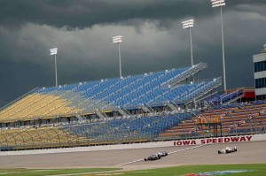 Iowa Speedway Seating View
