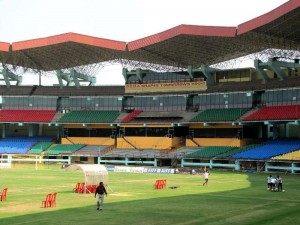 Jawaharlal Nehru Stadium seating