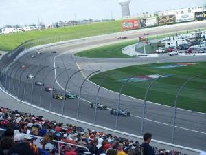 Kansas Speedway track