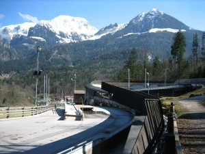Königssee bobsleigh, luge, and skeleton track