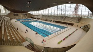 London Aquatics Centre-Inside View