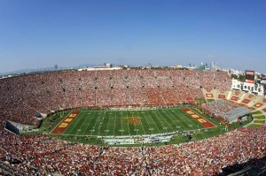 Los Angeles Memorial Coliseum Seating View