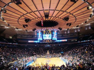 Madison Square Garden seating view