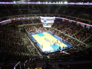 Mall of Asia Arena Philippines seat