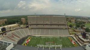 Maryland Stadium seating view