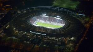 Mercedes Benz Arena View