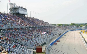 Milwaukee Mile seating view