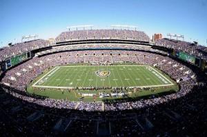 M&T Bank Stadium Seating View