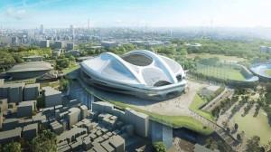 national stadium in tokyo