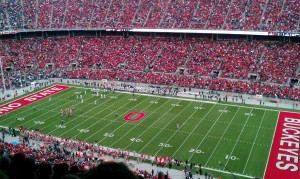 ohio state stadium seat view