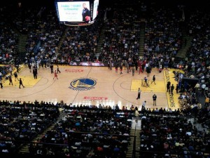 Oracle Arena Seat View