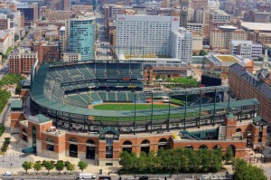 oriole park at camden yards baltimore md