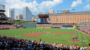 oriole park at camden yards baltimore maryland
