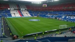 Parc Olympique Lyonnais seating