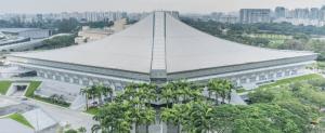 Singapore Indoor Stadium Front View