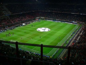 San Siro Stadium seating