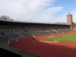 Stockholm Olympic Stadium track