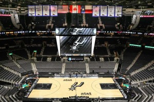 The AT&T Center Seating View