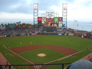 The AT&T Park San Francisco