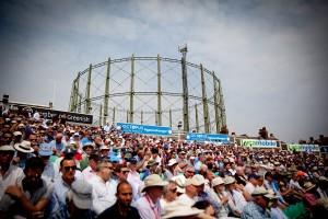 Spectators' area