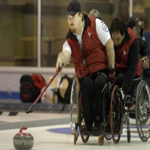 Christopher Daw wheelchair curling