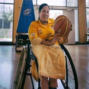 Madhavi Latha wheelchair basketball