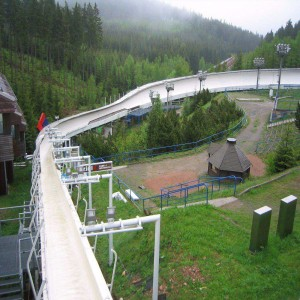 Altenberg bobsleigh, luge, and skeleton track