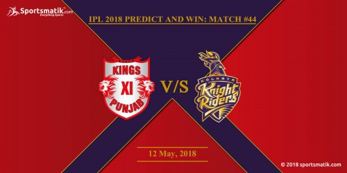 IPL 2018 Predict and Win: Match #44