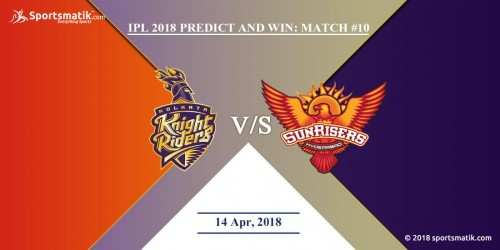 IPL 2018 Predict and Win: Match #10