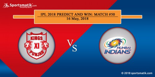 IPL 2018 Predict and Win: Match #50