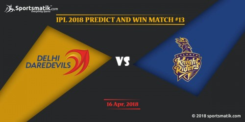 IPL 2018 Predict and Win: Match #13