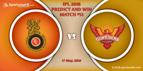 IPL 2018 Predict and Win: Match #51