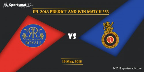 IPL 2018 Predict and Win: Match #53