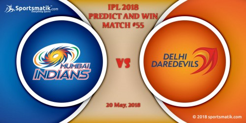 IPL 2018 Predict and Win: Match #55