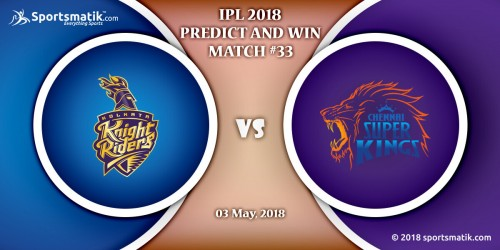IPL 2018 Predict and Win: Match #33