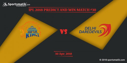 IPL 2018 Predict and Win: Match #30