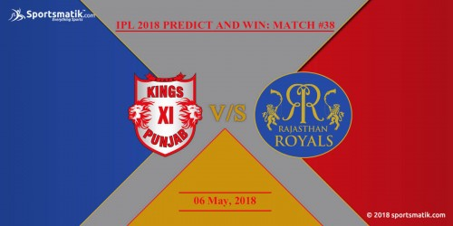 IPL 2018 Predict and Win: Match #38